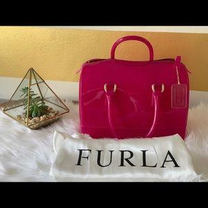 Furla Candy Bag in Fuchsia